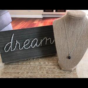 Vantel Pearls Dark Pearl Necklace
